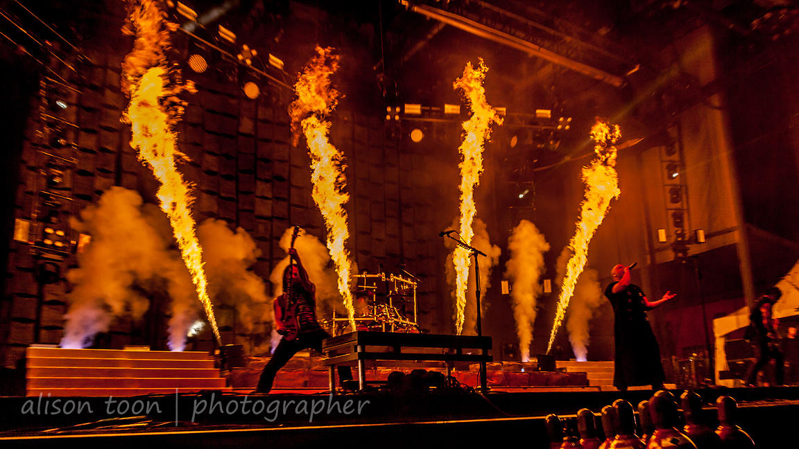 Disturbed at Chicago Open Air 2016