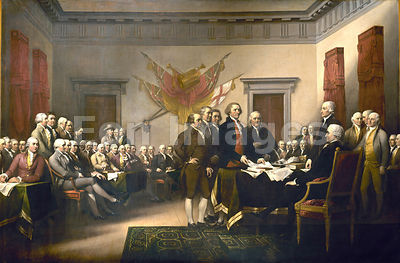 Declaration of Independence by Trumbull