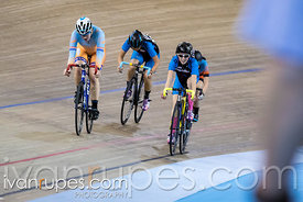 U15/U17 Women Scratch Race. Ontario Track Championships, March 3, 2018