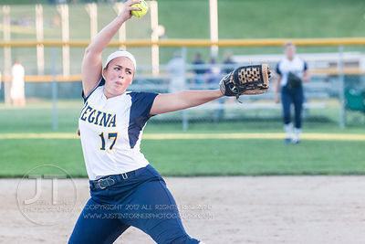 Girls Softball Iowa City Regina vs Cascade, July 1, 2014