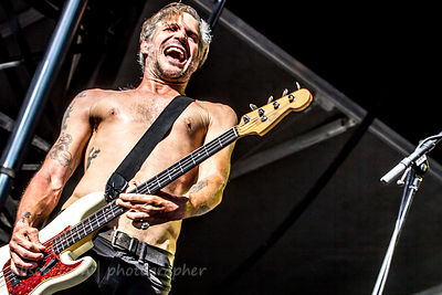 Jay Bentley, bass, Bad Religion, Aftershock 2014