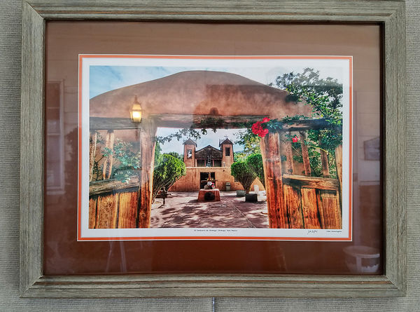 SOLD!  El Sanctuario de Chimayo 18x24