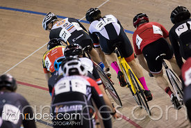 Cat 3 Men Points Race. 2016/2017 Track O-Cup #3/Eastern Track Challenge, Mattamy National Cycling Centre, Milton, On, Februar...