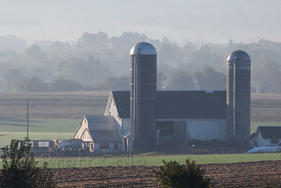 Farm in Amish country, Lancaster, Pennsylvania