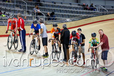 U17 Men Keirin 7-12 Final, Ontario Track Championships Day 3, April 12, 2015