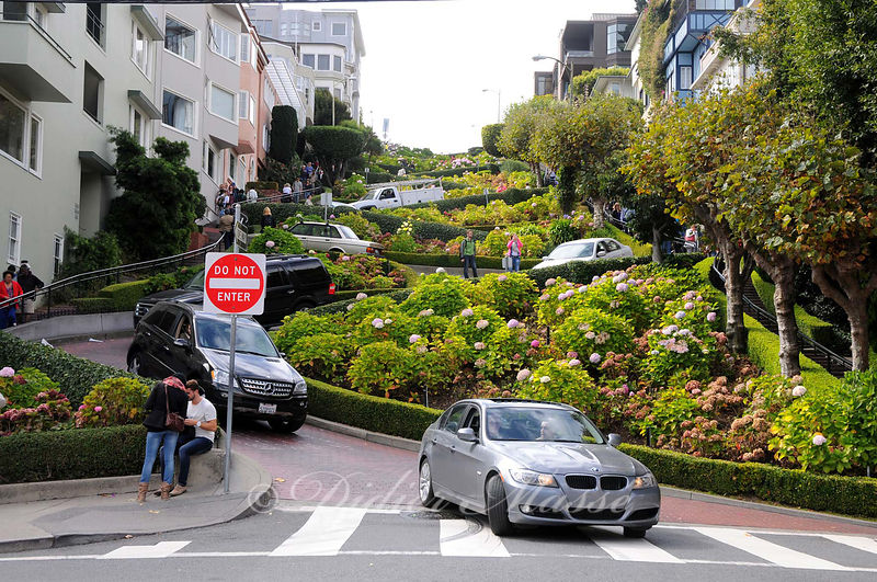 Lombard street San Francisco USA 10/12