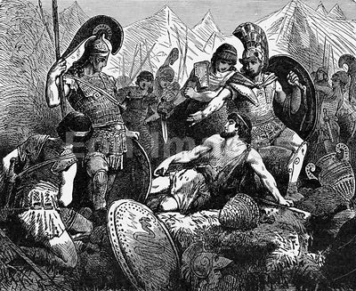 Codrus of Athens dies during battle with Dorians