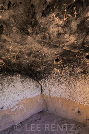 Room Carved-out of Tuff in Bandelier National Monument