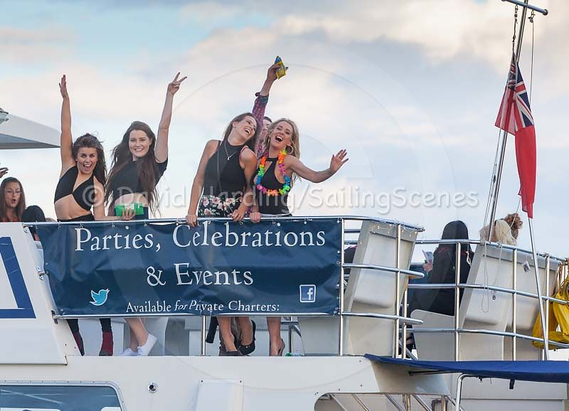 Party cruise in Poole Harbour