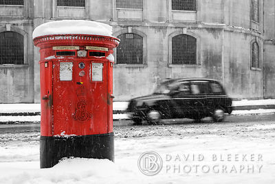 London Winter '09 photography