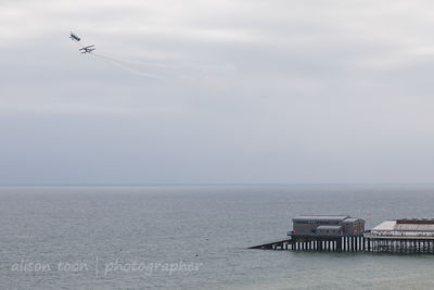 Wildcat Aerobatics over Cromer Pier