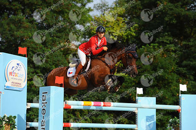 KOLOWRAT-KRAKOWSKA Francesca, (CZE), VORIETA during  competition at European Jumping Championship for Children, Juniors, Youn...