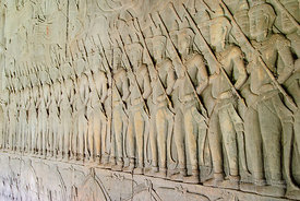 Base Relief Stone Carvings