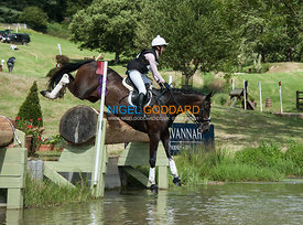 Becky Woolven (GBR) & Charlton Down Riverdance