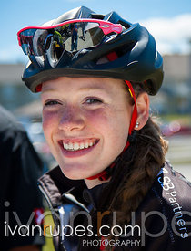 Ruby West at the Tour of Rimouski, Stage 2, Rimouski, Qc, July 10, 2014