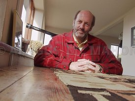 Denis Halliday in his home near Clifden..Photo by Aengus McMahon 087 2464770