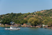 MV Songea lake ferry on Lake Malawi, Nkhata Bay, Malawi