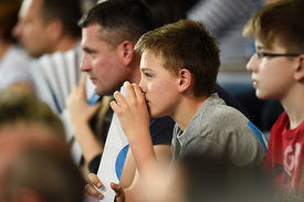 kid during the Final Tournament - Final Four - SEHA - Gazprom league, third place match, Varazdin, Croatia, 03.04.2016..Manda...