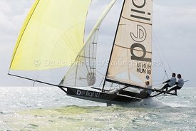 Be Light, HUN 18, 18ft Skiff, Euro Grand Prix Sandbanks 2016, 20160904595