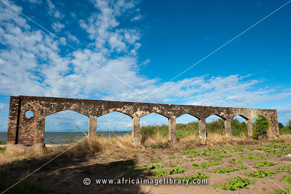 Ruins of the 19th century slave trade, Nkhotakota, Malawi