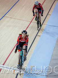 Junior women's sprint 1/4 finals. Milton International Challenge, January 10, 2015