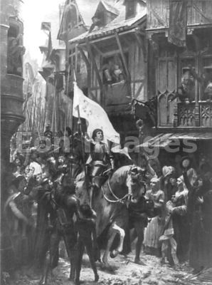 Entrance of Joan of Arc at Orleans by Scherrer
