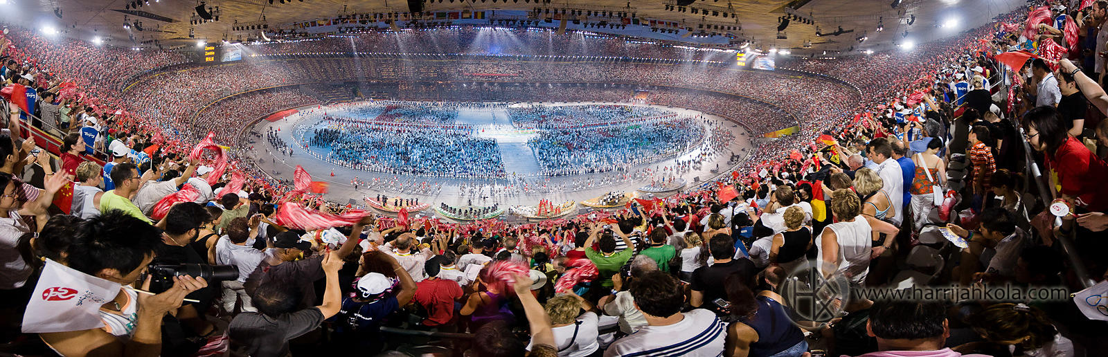 China - Beijing - Bird's Nest (2008 Olympics Opening Ceremony Crowds)