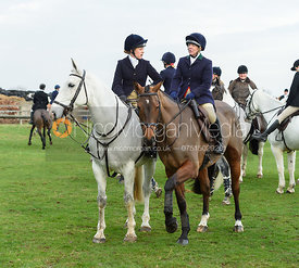 Etti Dale At the meet. The Belvoir Hunt at Highfield Farm 12/12
