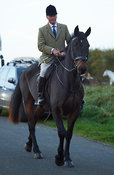 Major Tim Brown - The Cottesmore Hunt at America Crossroads 17/10