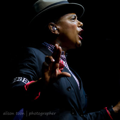 Pauline Black, vocals, The Selecter
