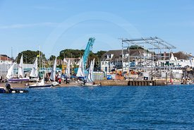 Parkstone Yacht Club's new clubhouse under construction, 20160826346