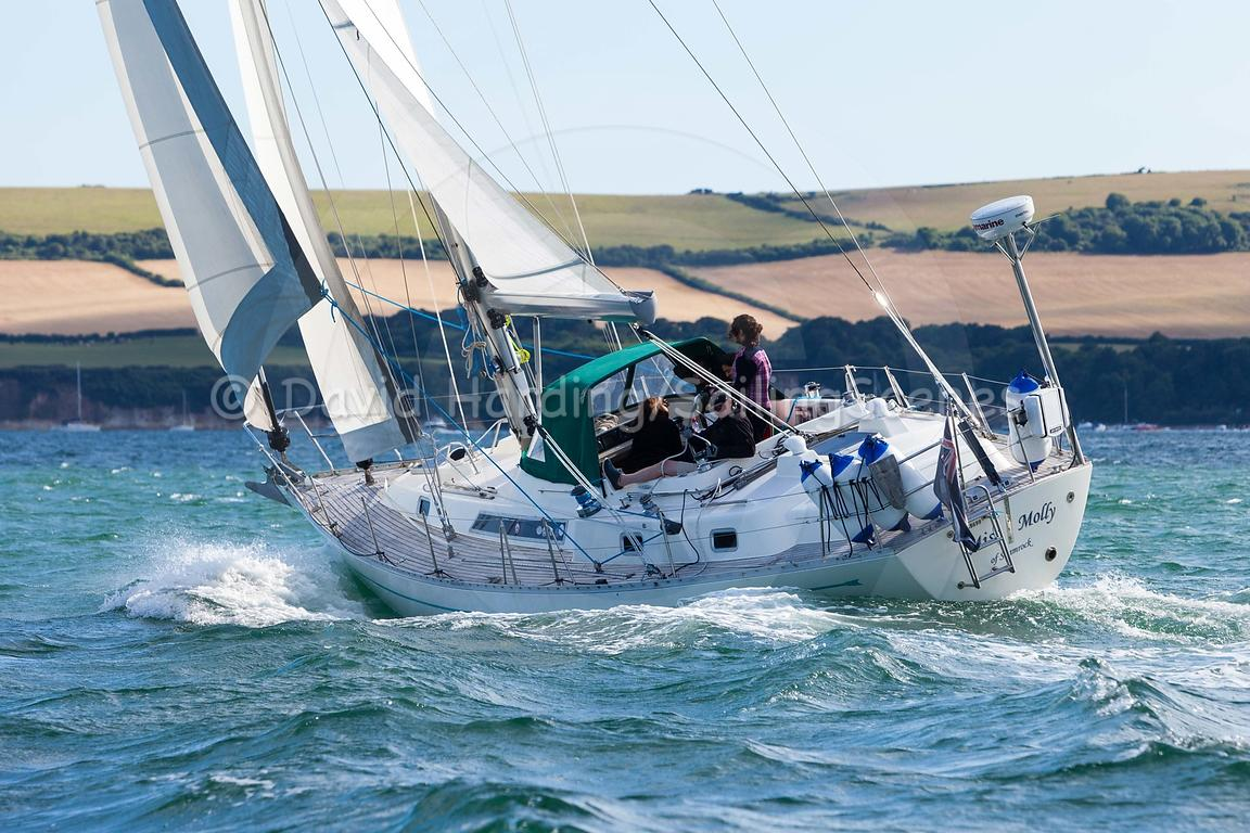 Miss Molly, GBR 4124L, Oyster 406, 20160731843