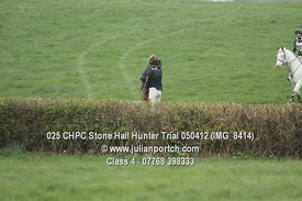 Class 4 - Stone Hall Hunter Trial 2012