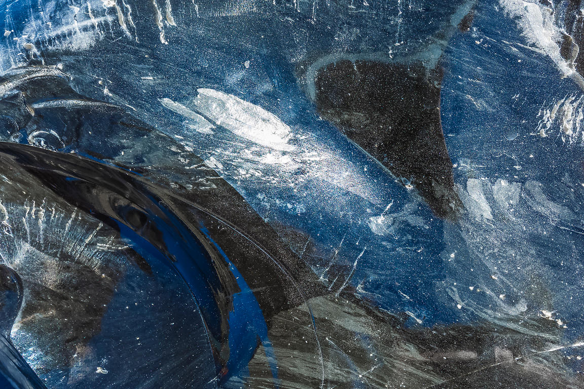 Close View of Obsidian in Newberry National Volcanic Monument