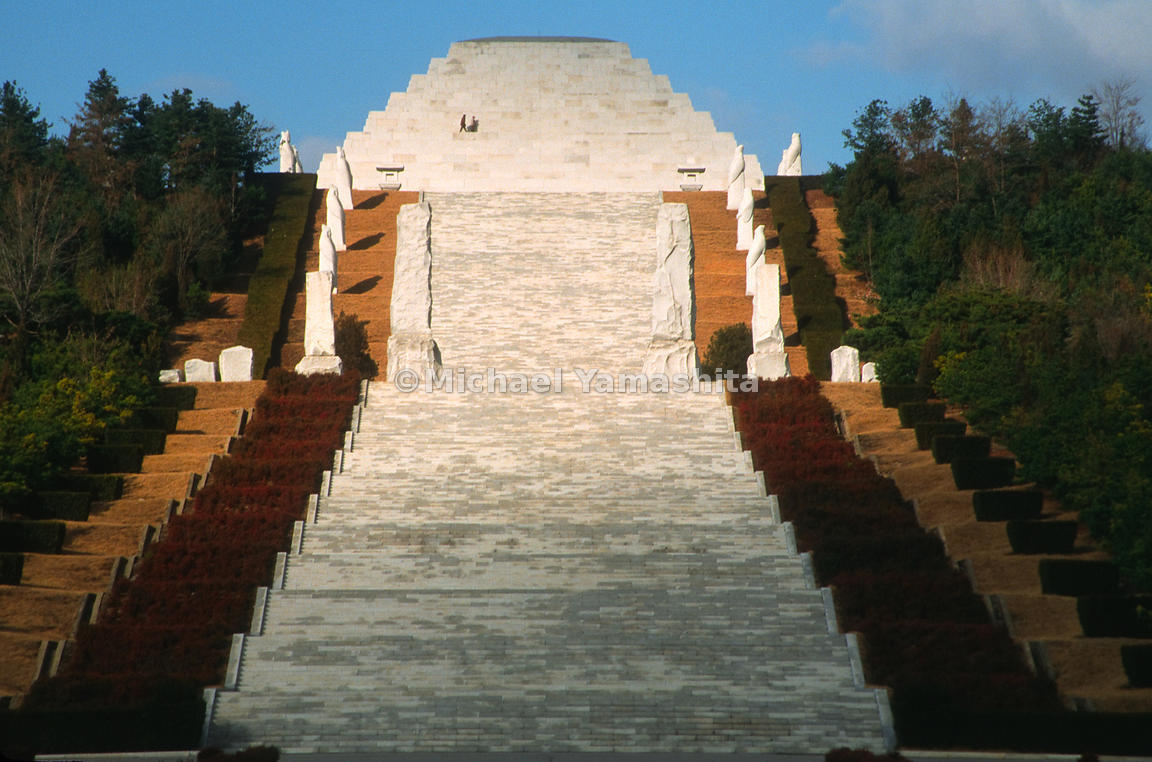 Tomb of King Tan'gun, Pyongyang, North Korea