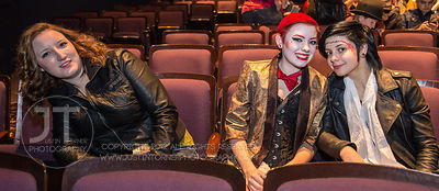 Rocky Horror Picture Show midnight screening, Englert Theatre, October 26, 2013