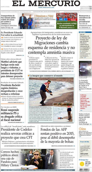 drowned-migrant-boy-el-mercurio-front-page