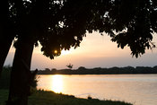 Sunset over the Victoria Nile, Murchison Falls National Park, Uganda