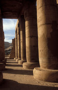 The Ramesseum, temple of Rameses II, the Great Hypostyle Hall,  Ancient Thebes, Luxor, Egypt
