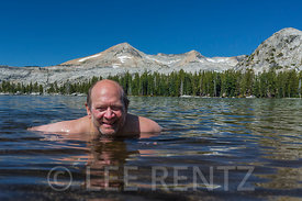 Lee Rentz Swimming in the Desolation Wilderness