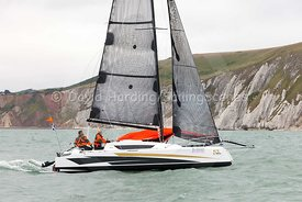 Dragonfly 25 Sport trimaran, Round the Island Race 2017, 20170701029