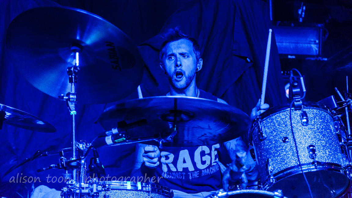 Tre Stafford,, drums, Adelitas Way