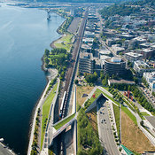 Olympic Sculpture Park and Waterfront, Seattle