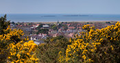 View over West Kirby to Hilbre Island