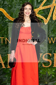 Elizabeth Jagger attends The Fashion Awards 2018 at The Royal Albert Hall. London, UK. 10/12/2018