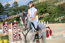 FORMILLI FENDI Flamina (ITA) and TINY BOY during LAKE ARENA - The Summer Circuit II, CSI2*, GOOD BYE COMP, 140 cm, 2017 Augus...