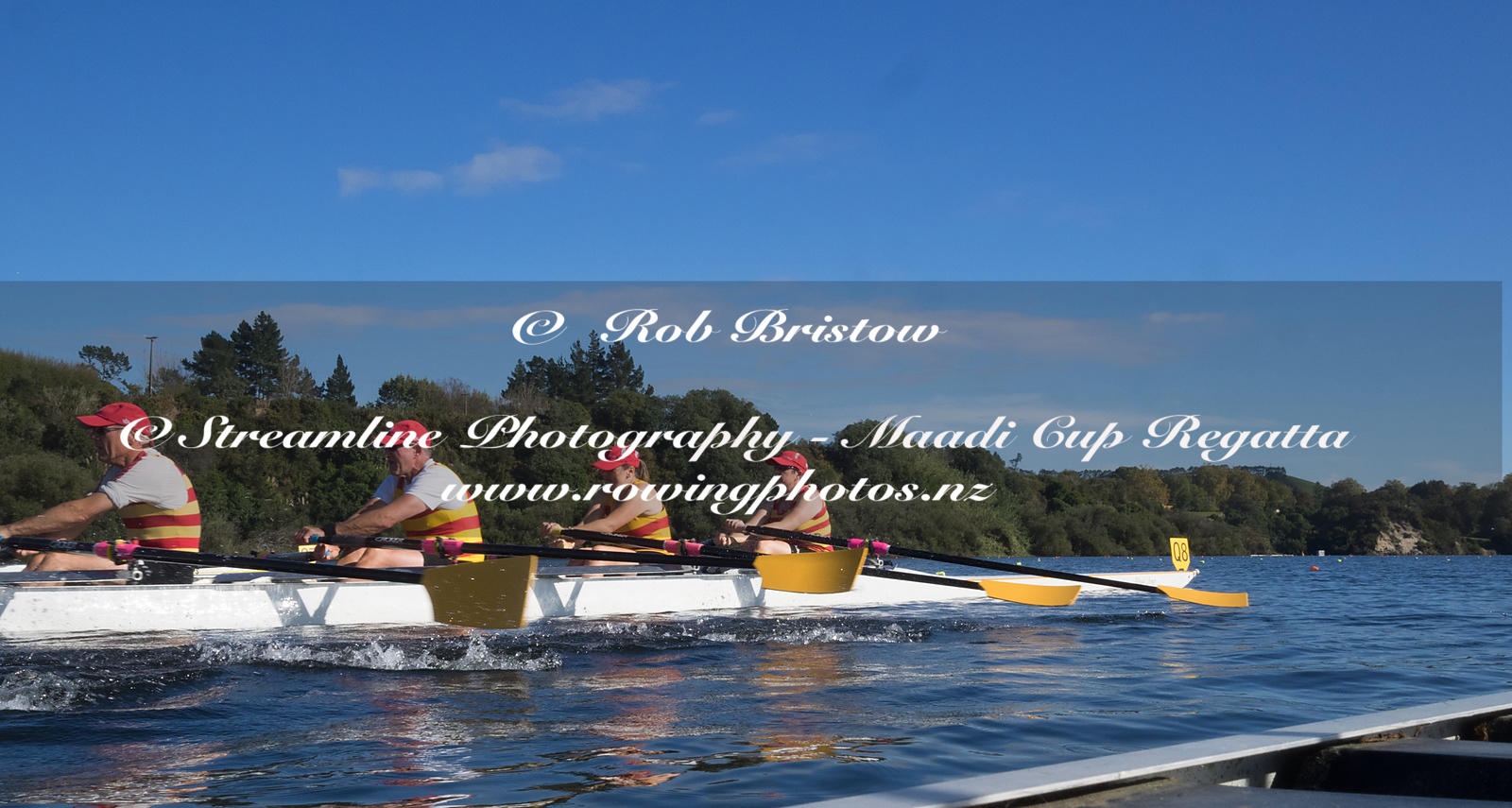 Taken during the World Masters Games - Rowing, Lake Karapiro, Cambridge, New Zealand; ©  Rob Bristow; Frame 1340 - Taken on: ...