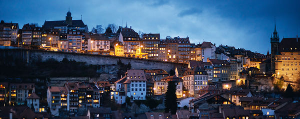 Fribourg by Night