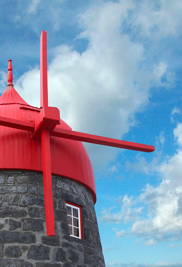 Azores Red Windmill