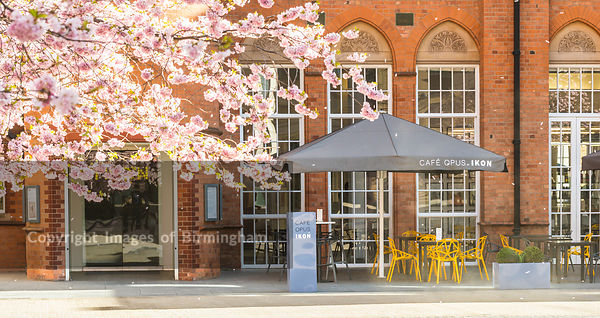 Cafe Opus at the Ikon Gallery, Brindleyplace, Birmingham, England.